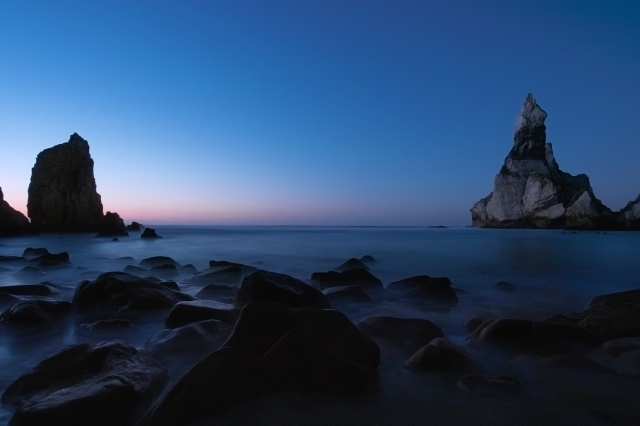Seascape_after_sunset