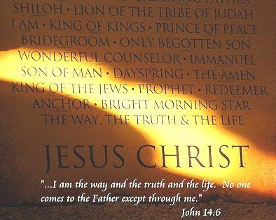 Jesus Christ the way the truth and the life